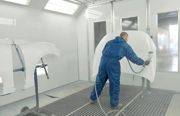 auto body paint booth